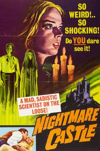 Nightmare Castle Poster