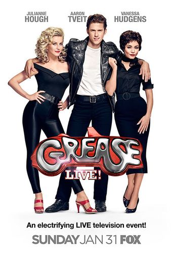 Grease Live Poster