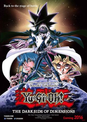 Yu-Gi-Oh!: The Dark Side of Dimensions Poster