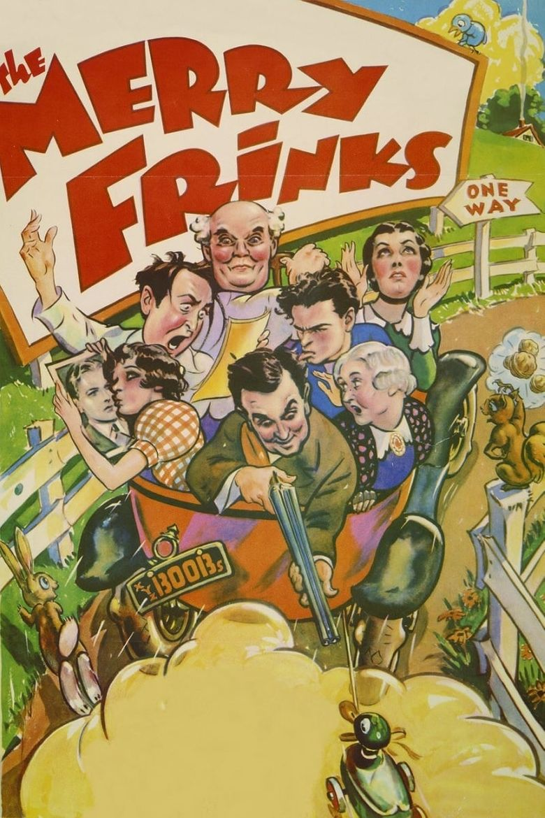The Merry Frinks Poster