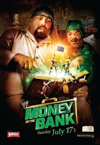 WWE Money In The Bank 2011 Poster