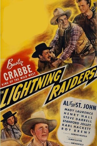 Lightning Raiders Poster