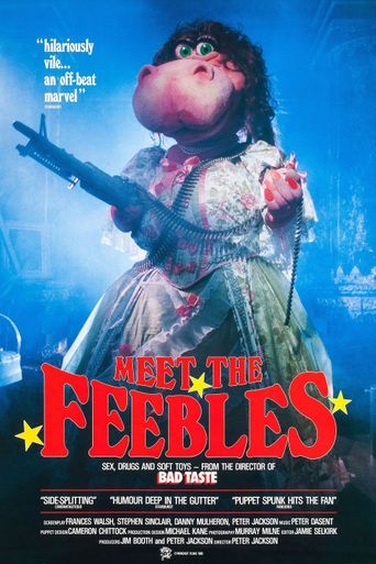 Meet the Feebles Poster