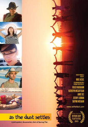 As the Dust Settles: A Participatory Documentary Shot at Burning Man Poster