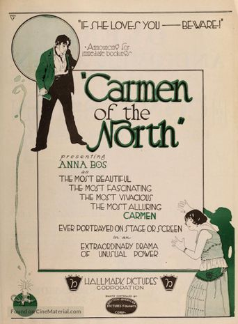 A Carmen of the North Poster