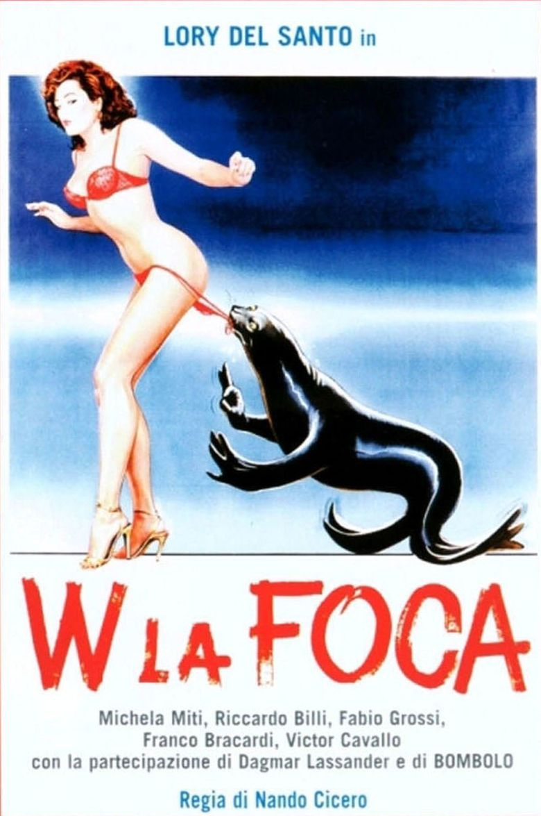 W La Foca Poster