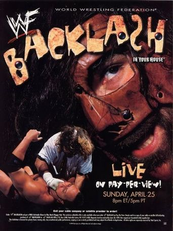 WWE Backlash: In Your House Poster