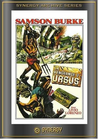 The Vengeance of Ursus Poster