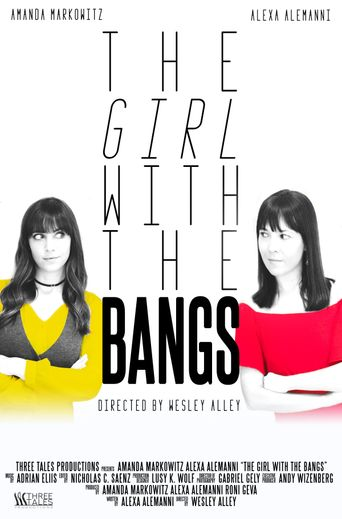 The Girl with the Bangs Poster