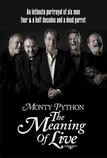 Monty Python: The Meaning of Live Poster