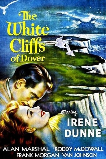 The White Cliffs of Dover Poster