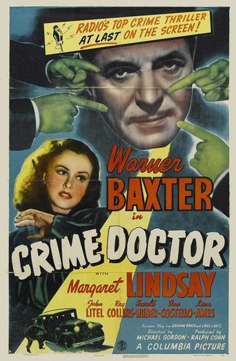Crime Doctor Poster