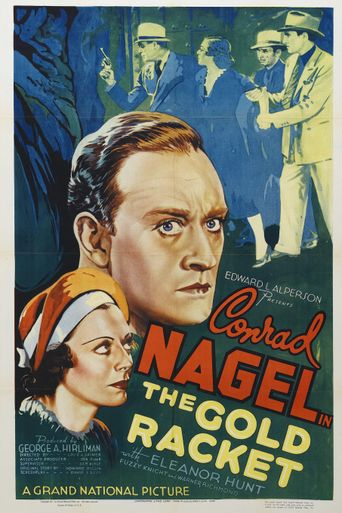 The Gold Racket Poster
