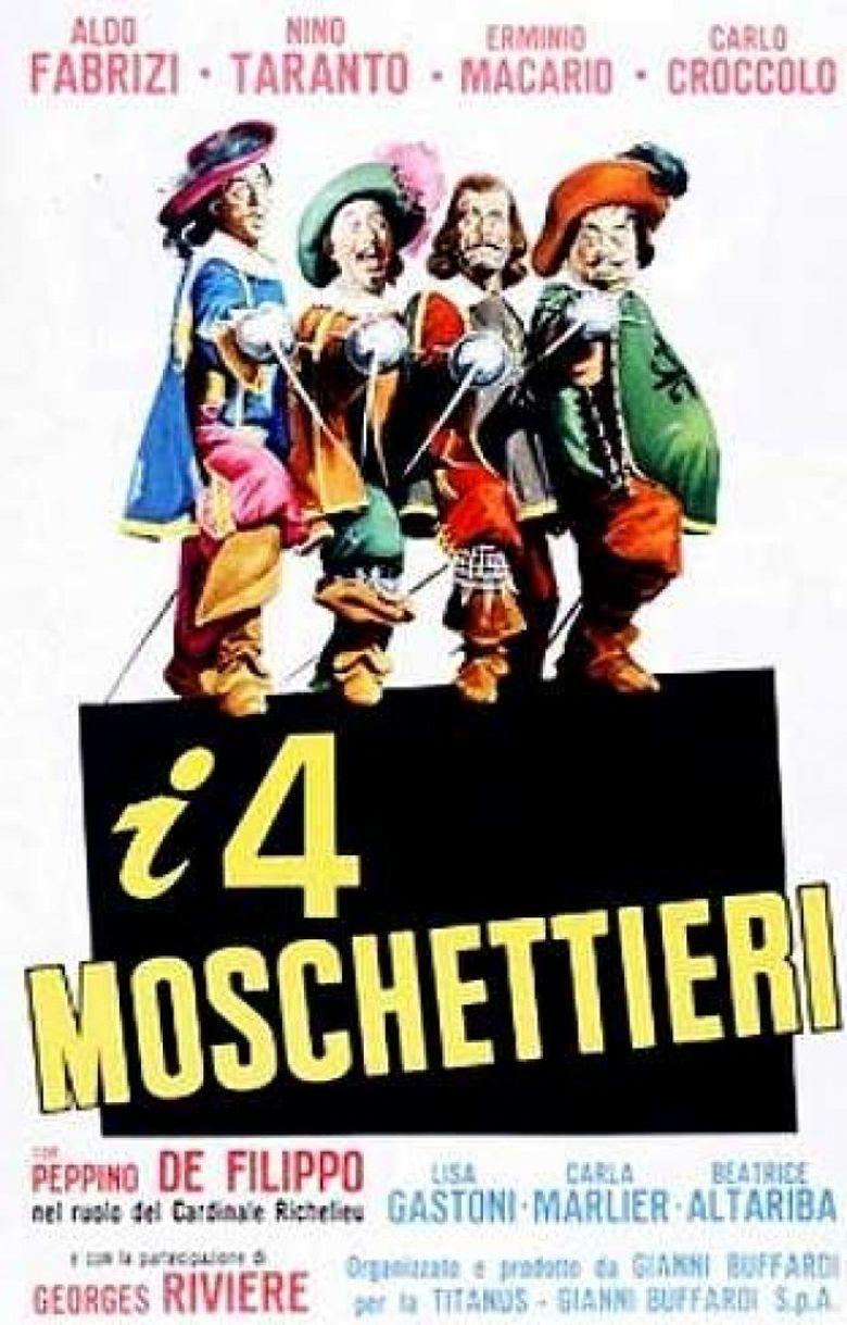 I quattro moschettieri Poster