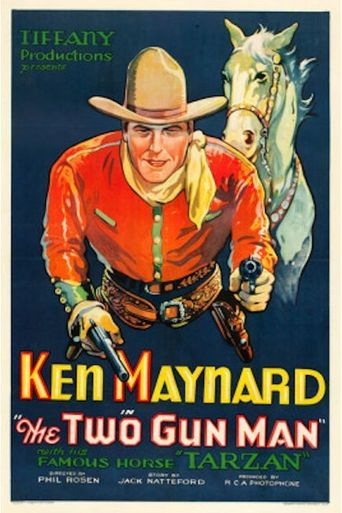 The Two Gun Man Poster