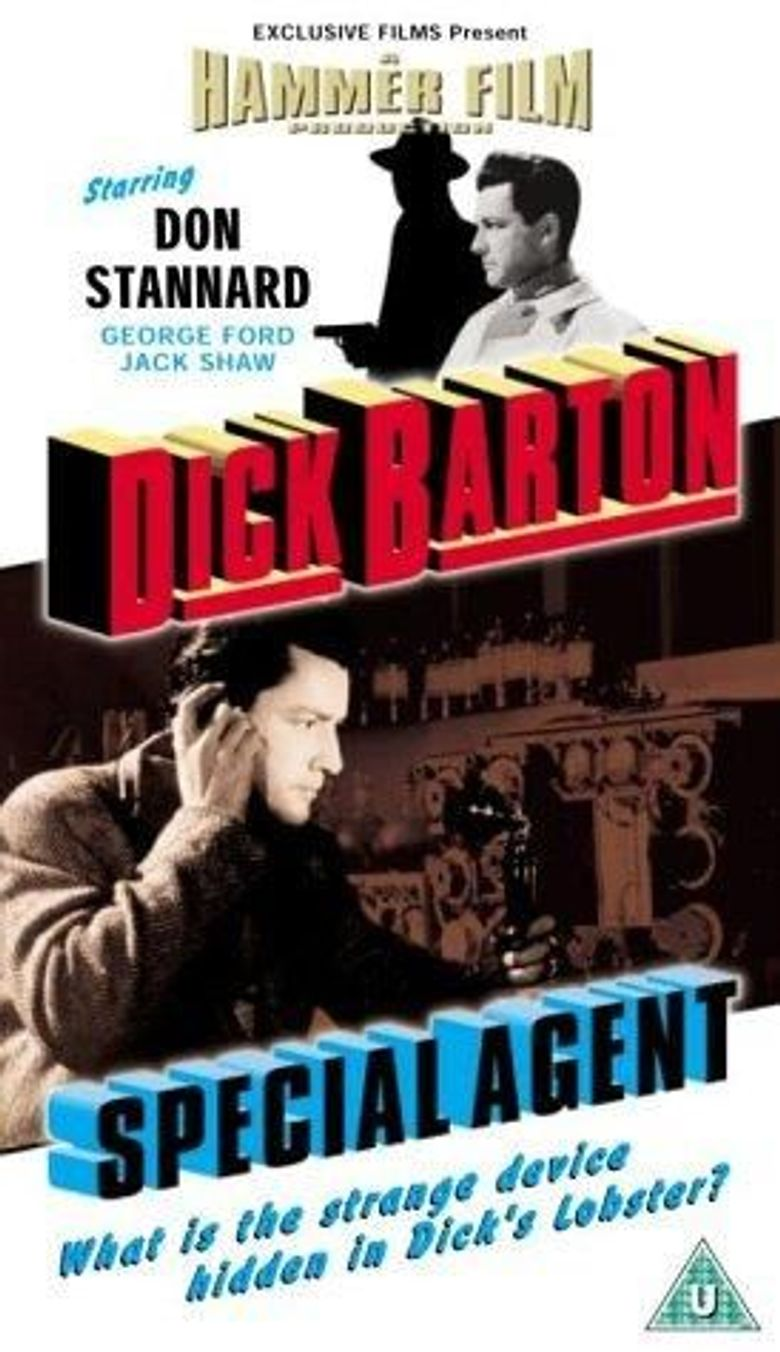 Dick Barton: Special Agent Poster