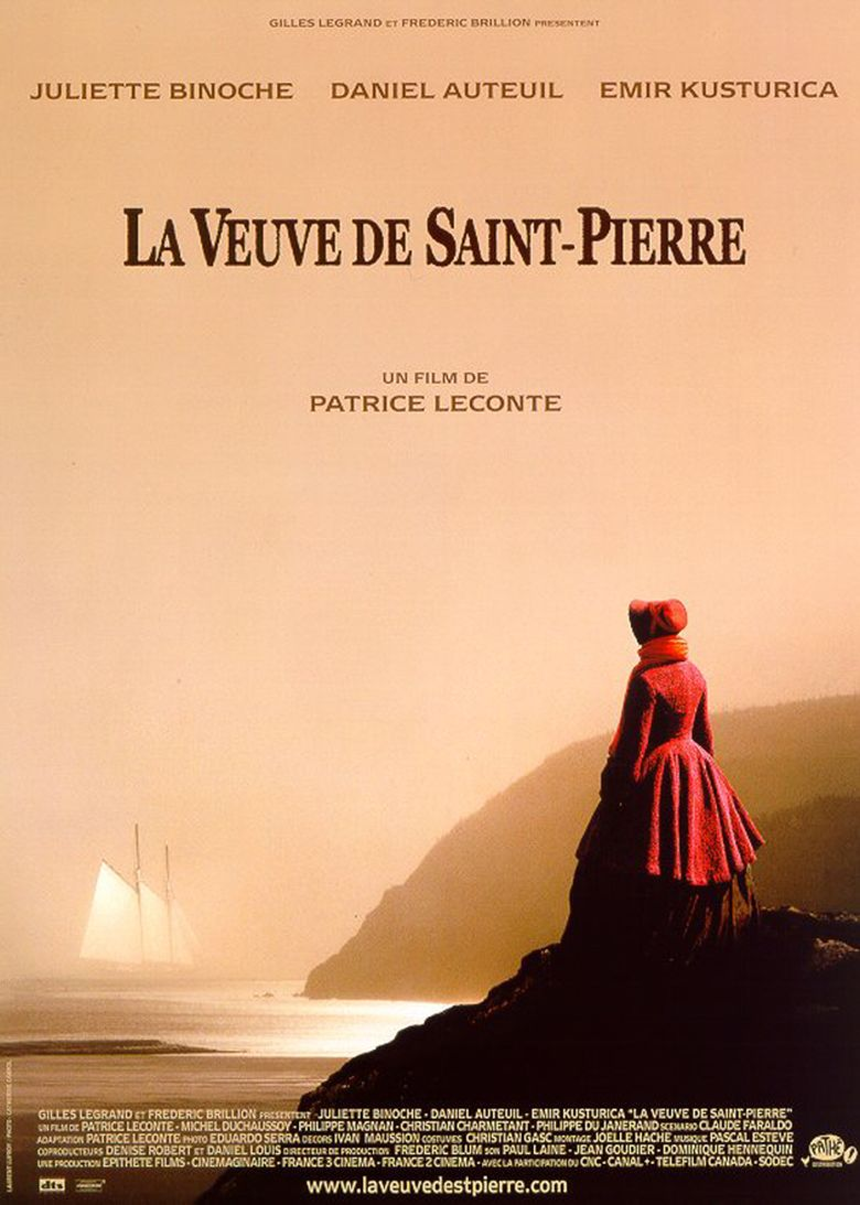 The Widow of Saint-Pierre Poster