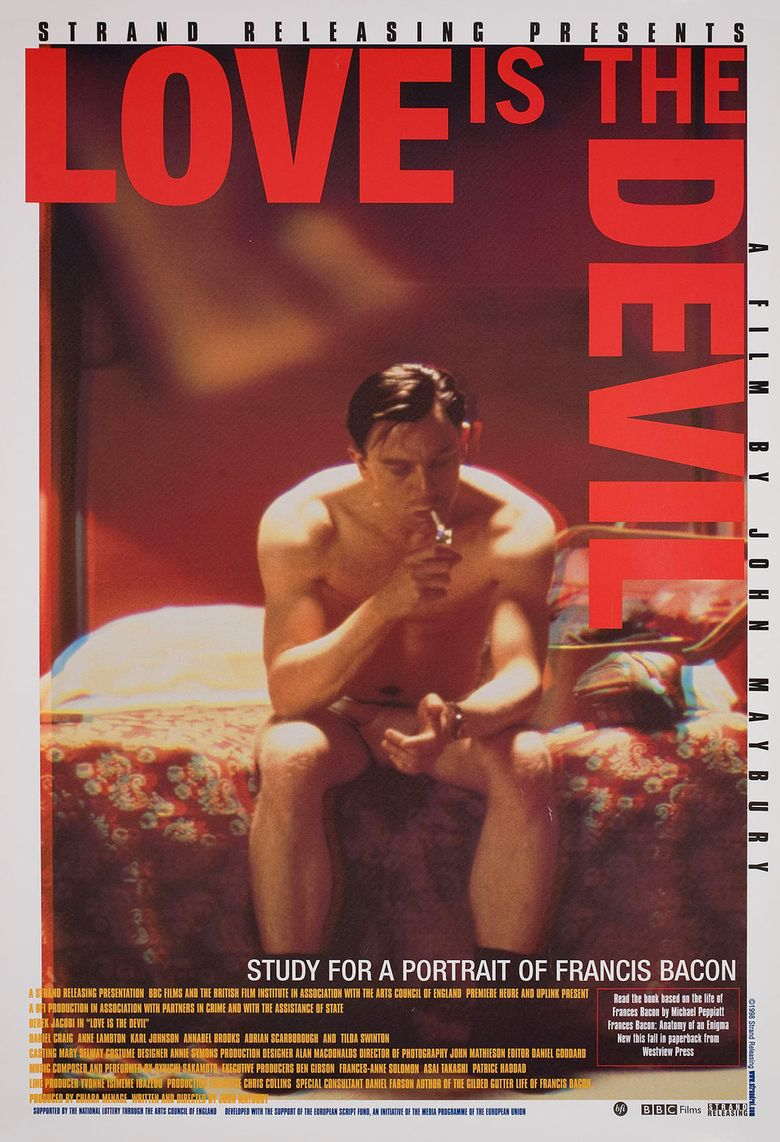 Love Is the Devil: Study for a Portrait of Francis Bacon Poster