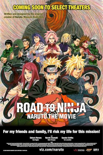 Naruto Shippuden the Movie: Road to Ninja Poster