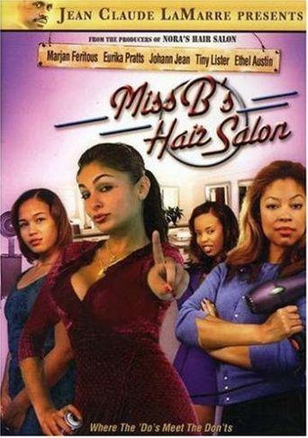 Miss B's Hair Salon Poster