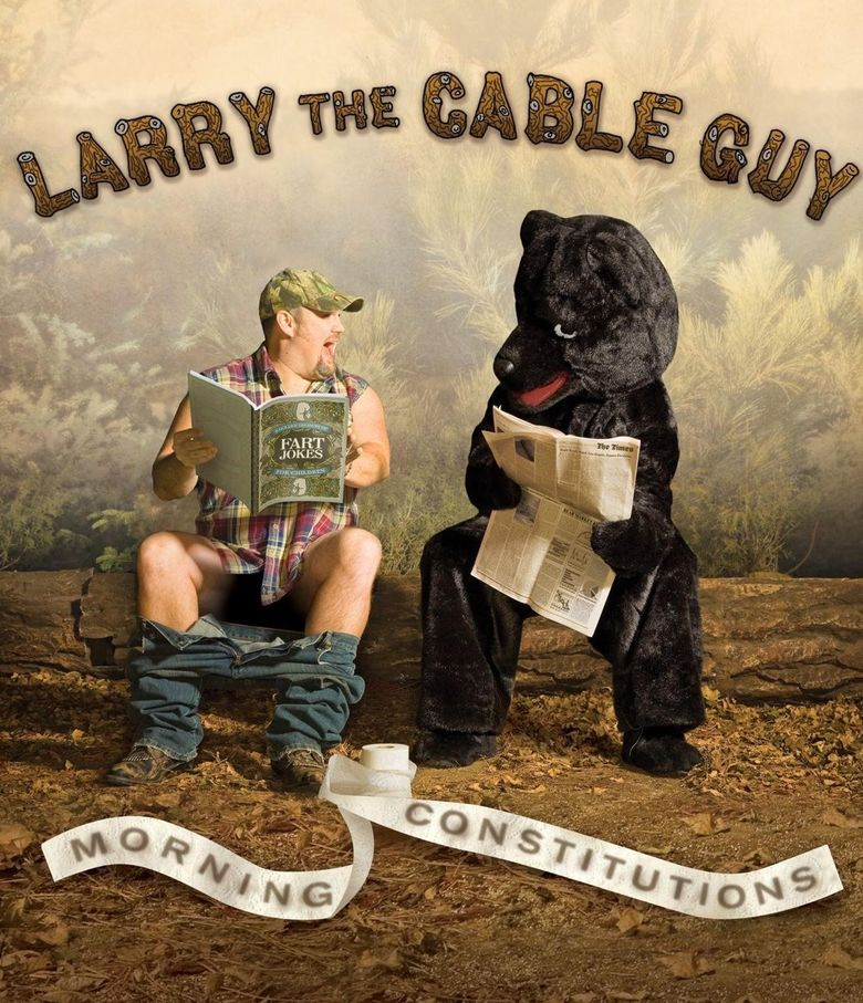 Larry the Cable Guy: Morning Constitutions Poster