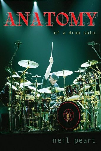 Neil Peart: Anatomy of a Drum Solo Poster
