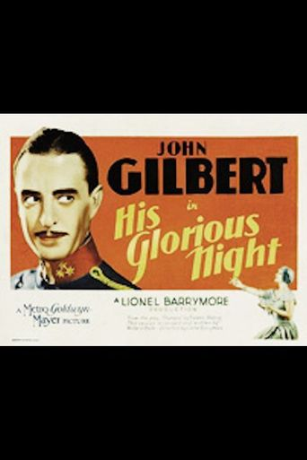 His Glorious Night Poster