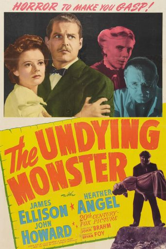 The Undying Monster Poster
