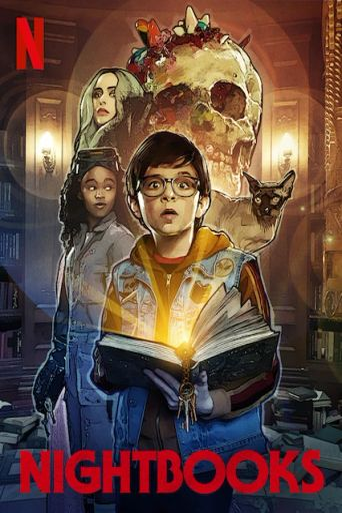 Nightbooks Poster