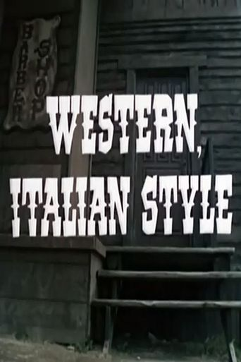 Western, Italian Style Poster