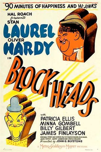 Block-Heads Poster