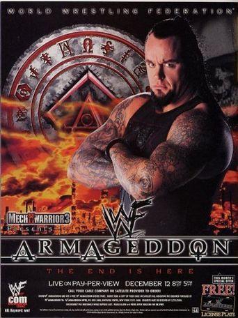 WWE Armageddon 1999 Poster