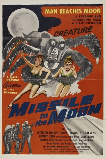 Missile to the Moon Poster