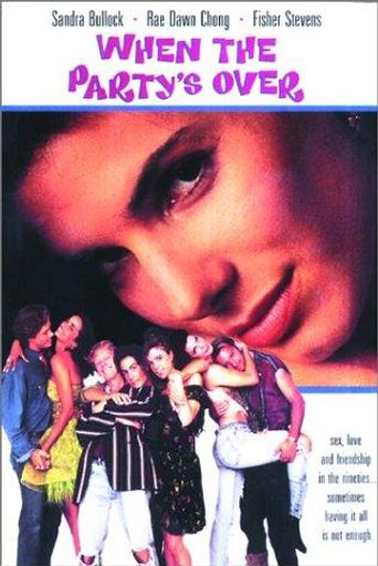 When the Party's Over Poster
