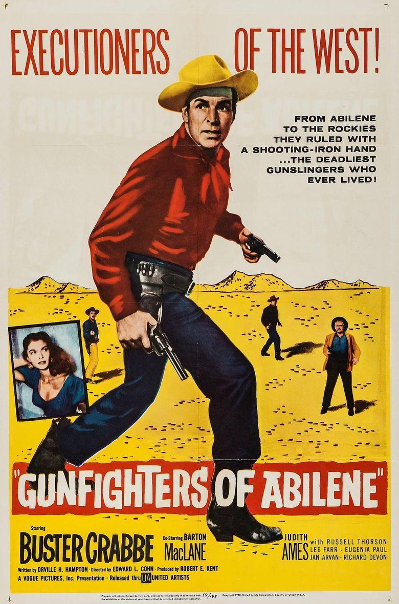 Gunfighters of Abilene Poster