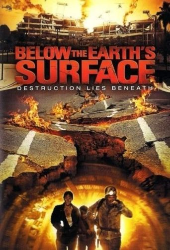Below the Earth's Surface Poster