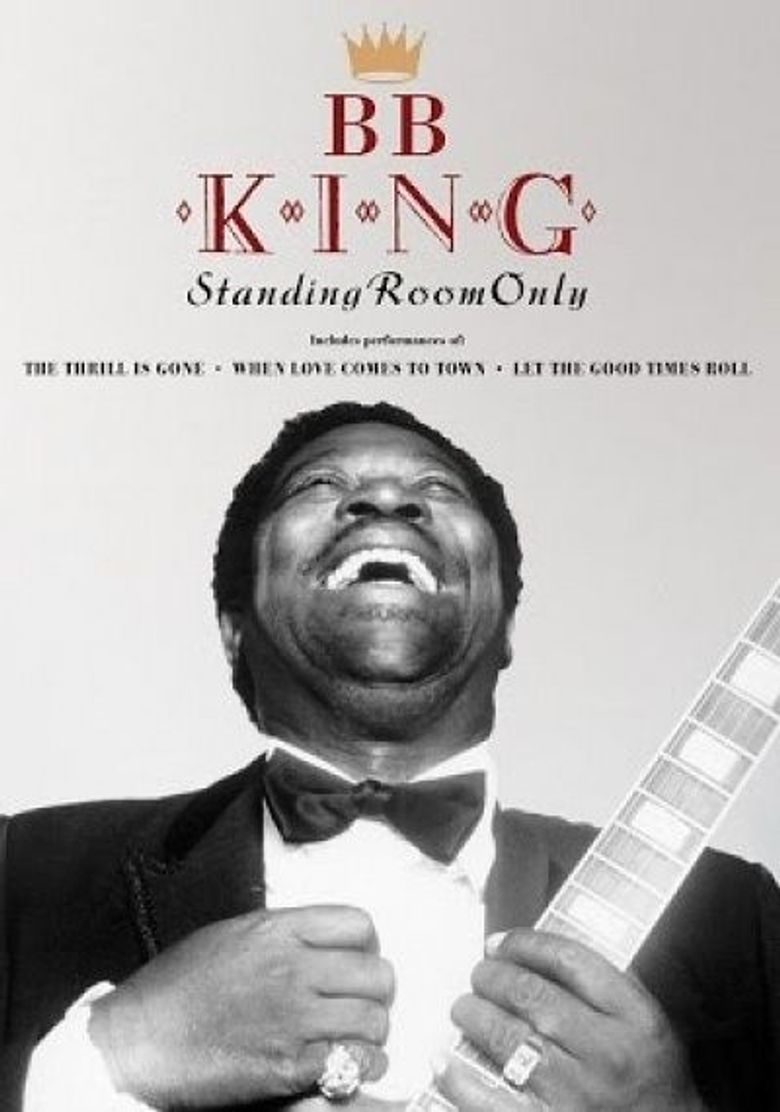 B.B. King Standing Room Only Poster