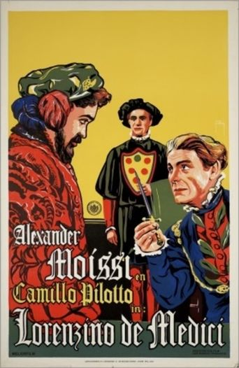 Lorenzino de' Medici Poster