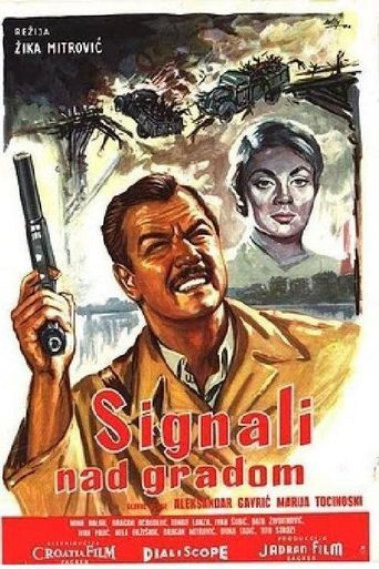 Signal Over the City Poster
