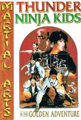 Thunder Ninja Kids In The Golden Adventure Poster