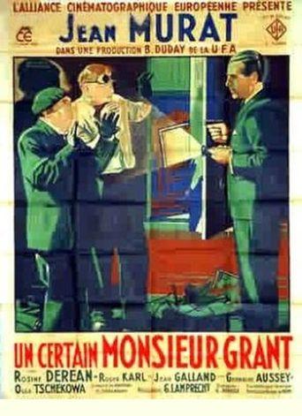 Un certain monsieur Grant Poster