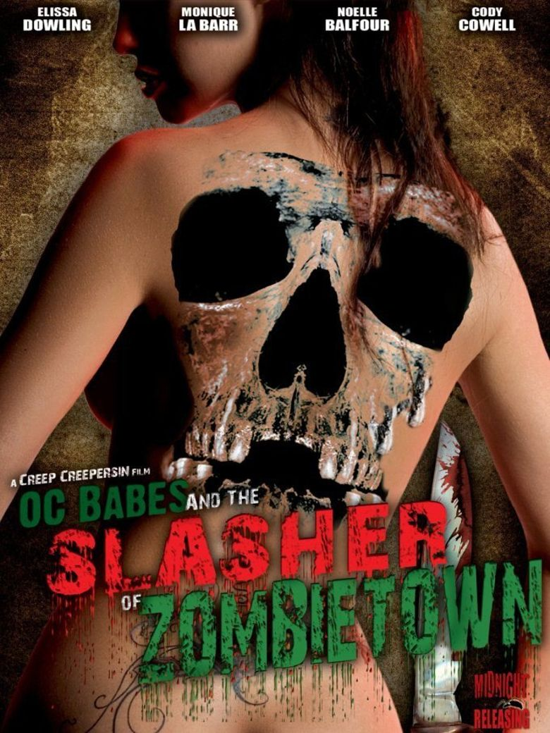 O.C. Babes and the Slasher of Zombietown Poster
