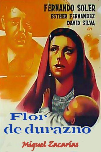 Flor de durazno Poster