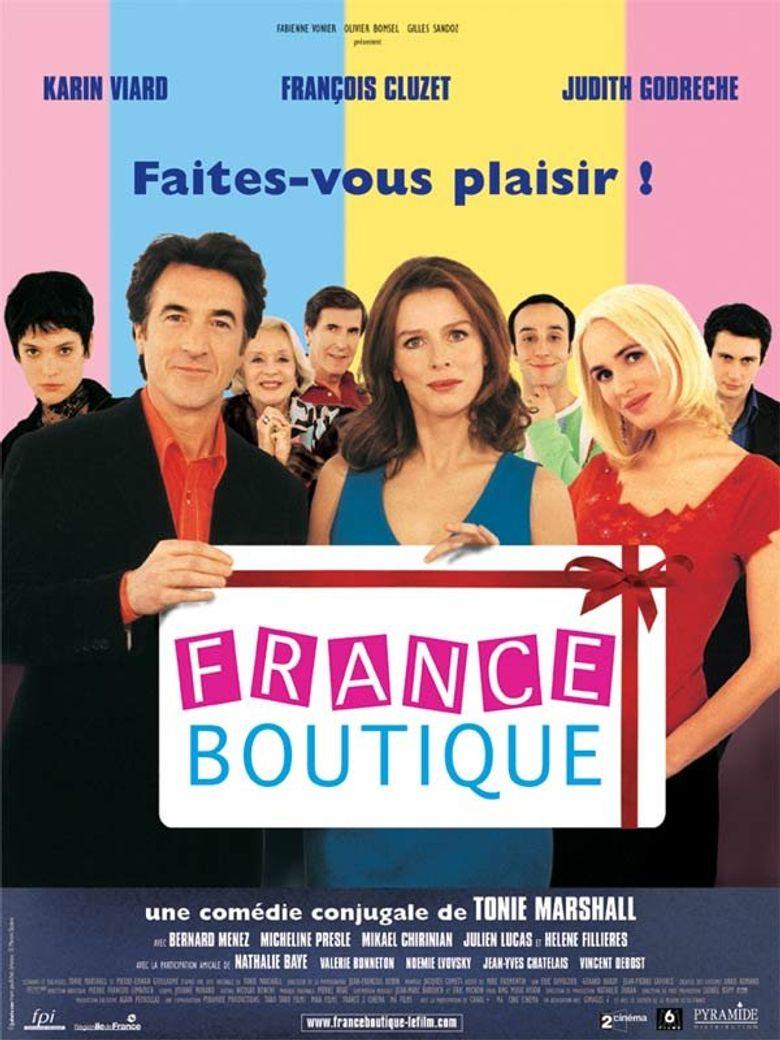 France Boutique Poster