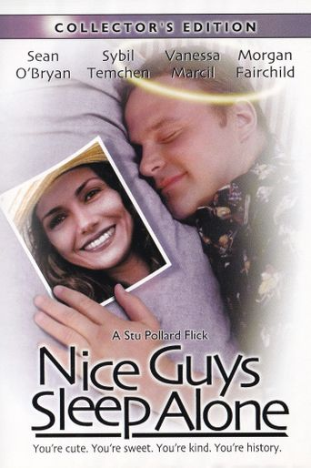 Nice Guys Sleep Alone Poster