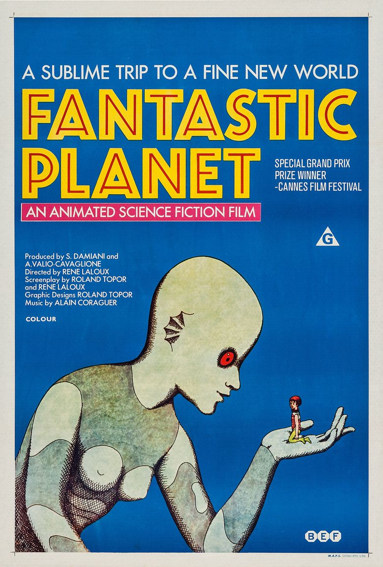 Fantastic Planet Poster