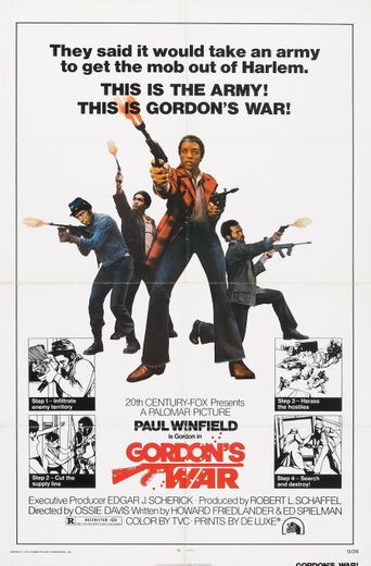 Gordon's War Poster
