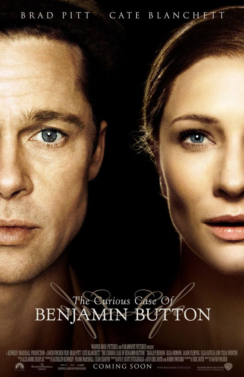 The Curious Case of Benjamin Button Poster