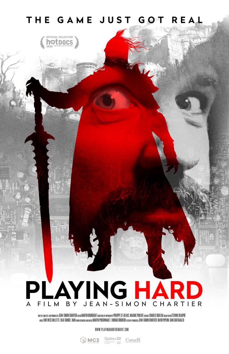Playing Hard Poster