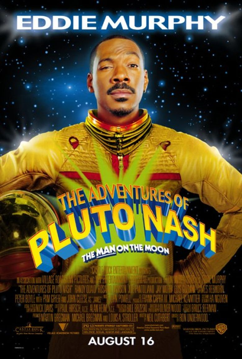 The Adventures of Pluto Nash Poster